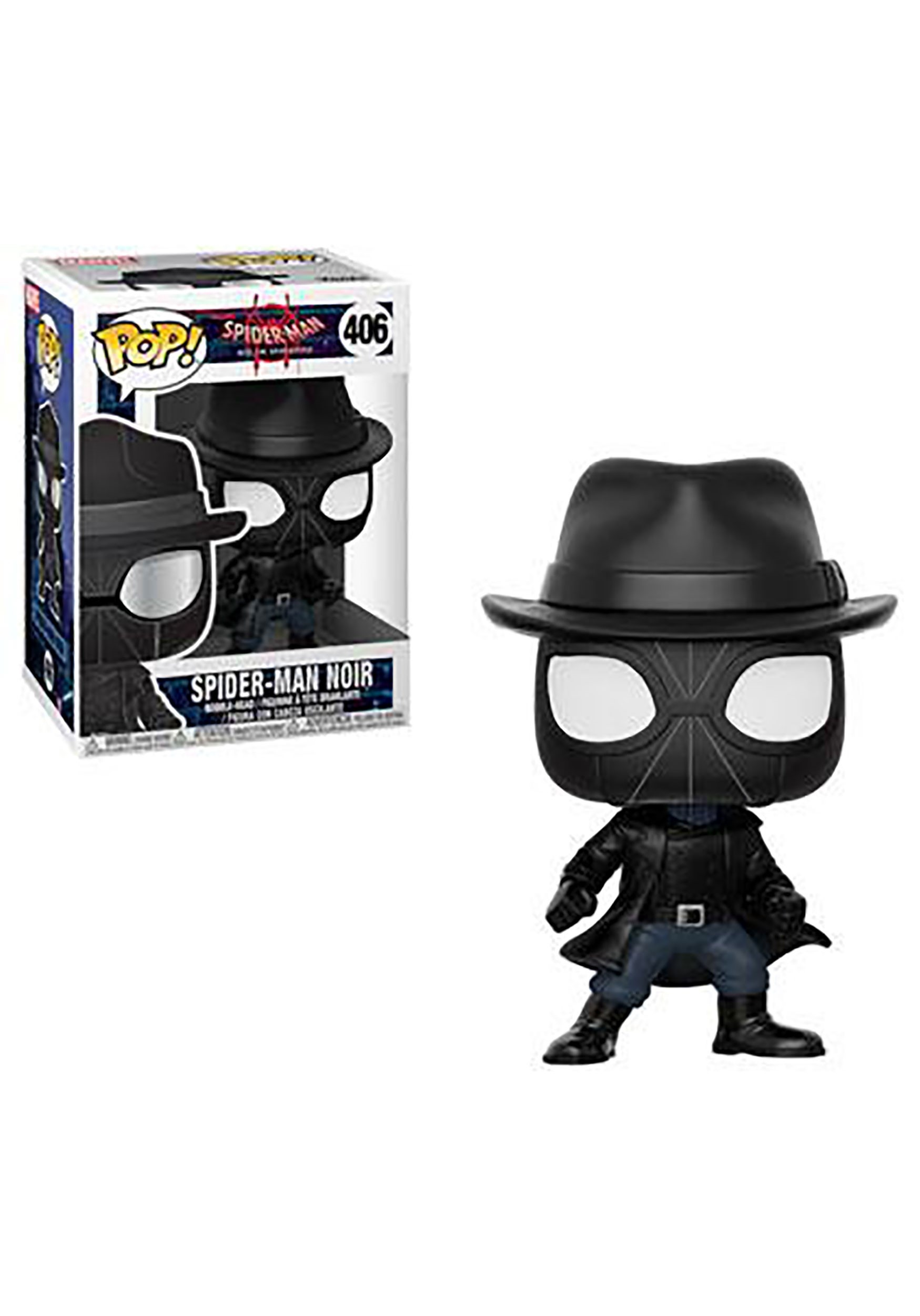 Pop! Marvel: Spider-Man: Spider-Man Noir- Into the Spider-Verse
