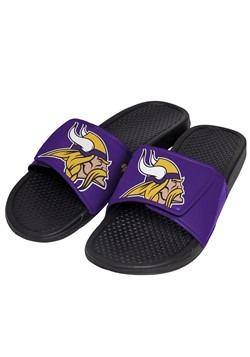 Minnesota Vikings Cropped Big Logo Slide Men's Flip Flop