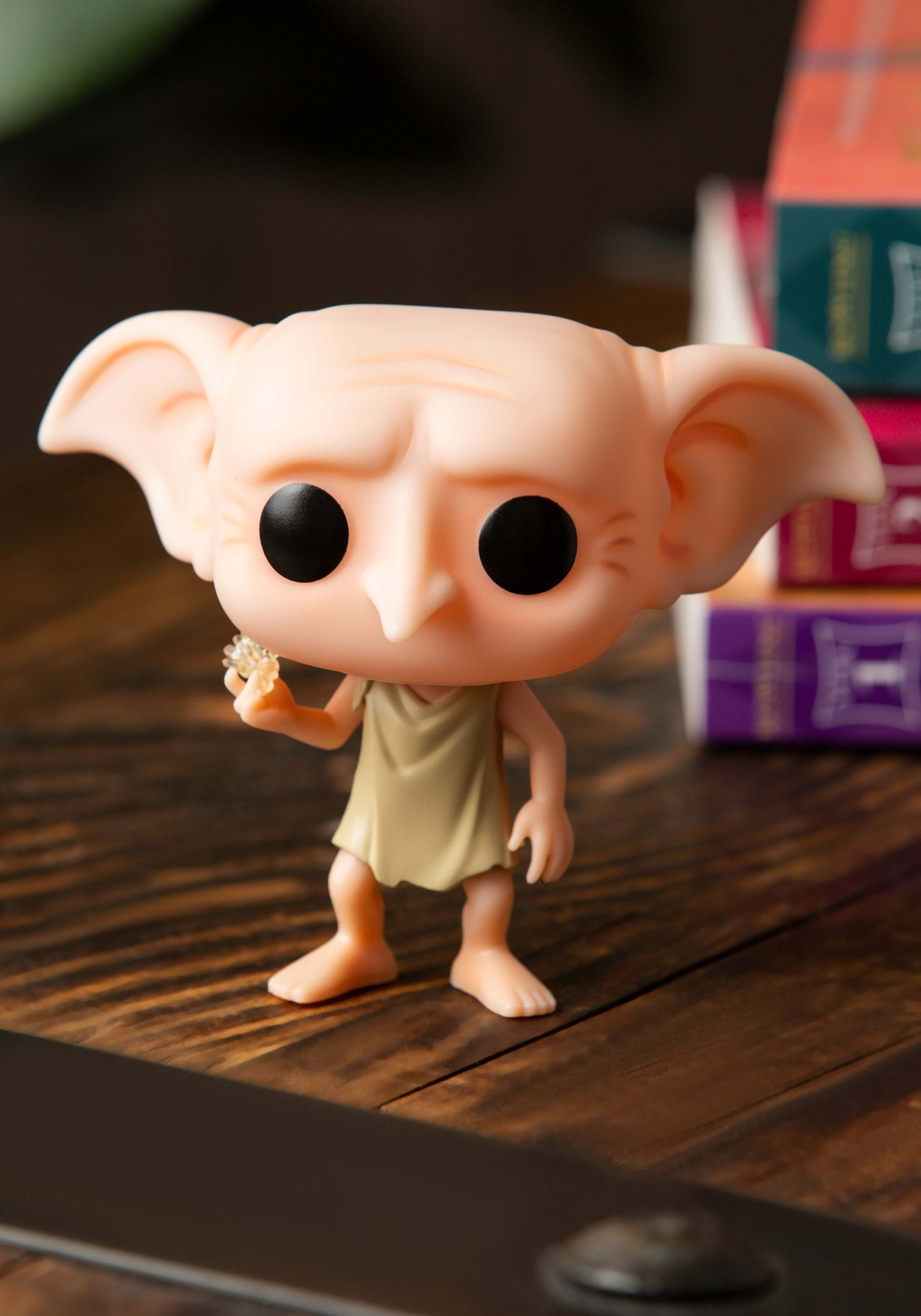 Dobby Snapping his Fingers Pop 10cm Figurine Harry Potter