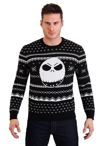 Nightmare Before Christmas Jack Ugly Sweater Update Main