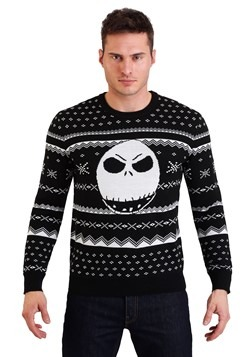 Nightmare Before Christmas Jack Ugly Sweater Update Main