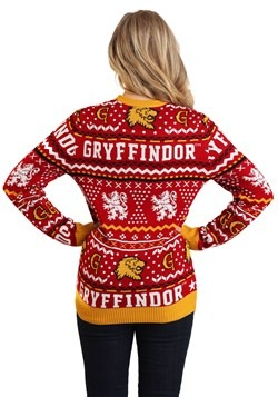 Harry Potter Gryffindor Adult Ugly Sweater Alt 1 update