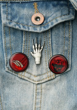 Nightmare on Elm Street Lapel Pin Set Update