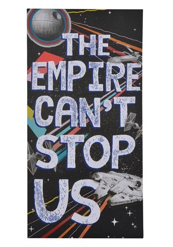 """Star Wars """"The Empire Can't Stop Us"""" Canvas Wall Decor"""
