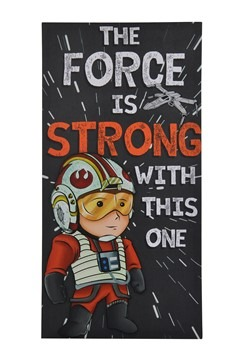 "Star Wars ""The Force is Strong with This One"" Canvas"