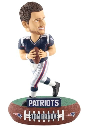 New England Patriots Tom Brady Baller Bobble Head