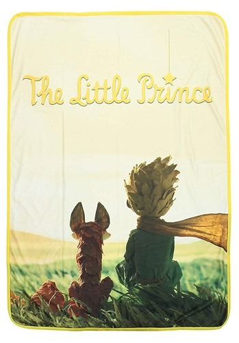 The Little Prince Fleece Throw