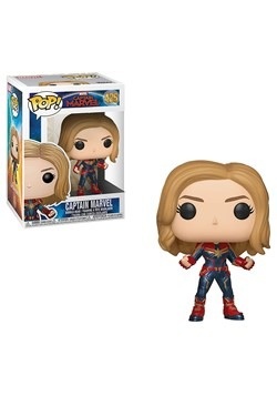 Pop! Marvel: Captain Marvel- Captain Marvel