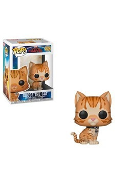 Pop! Marvel: Captain Marvel- Goose the Cat