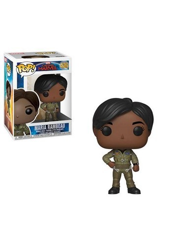 Pop! Marvel: Captain Marvel- Maria Rambeau