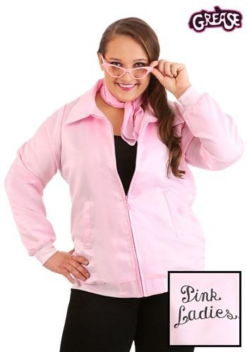 Pink Ladies Grease Plus Size Costume Jacket