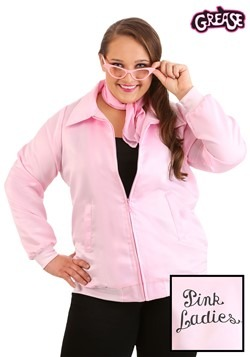 Pink Ladies Grease Plus Size Costume Jacket