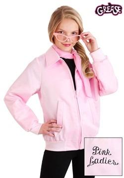 Grease Pink Ladies Girls Costume Jacket