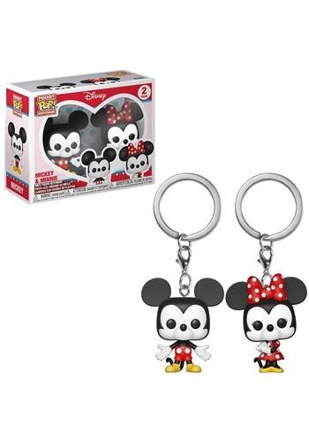 Pop Keychain Disney 2 pack Mickey and Minnie