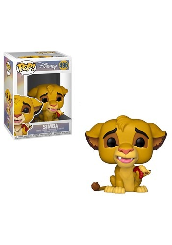 Funko Pop! Disney: Lion King- Simba Figure