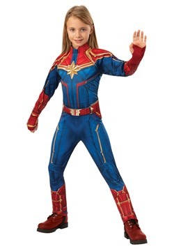 Captain Marvel Deluxe Child Costume update