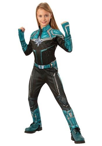 Captain Marvel Kree Suit Deluxe Kids Costume