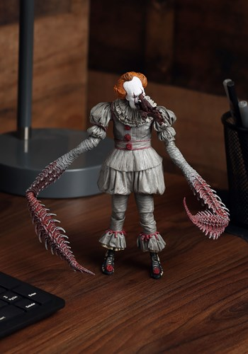 "IT Ultimate Dancing Pennywise 7"" Scale Action Figure"