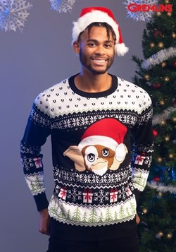 Gremlins Gizmo Claus Ugly Christmas Sweater 1