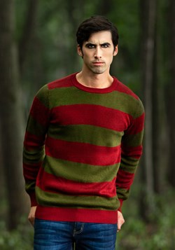 Adult Striped Nightmare on Elm Street Freddy Sweater