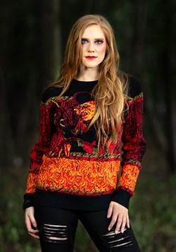 Adult Nightmare on Elm Street Freddy Ugly Halloween Sweater