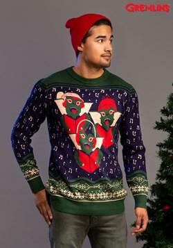 Gremlins Caroling Trio Ugly Christmas Sweater