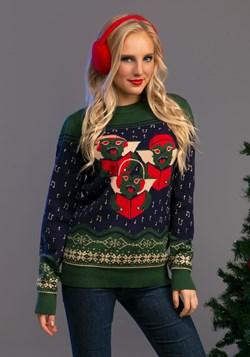 Gremlins Caroling Trio Ugly Christmas Sweater Alt 1