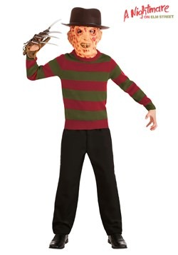 Kids Nightmare on Elm Street Striped Freddy Kruger Sweater