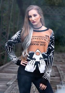 Celestial Spirit Board Ugly Halloween Sweater 1