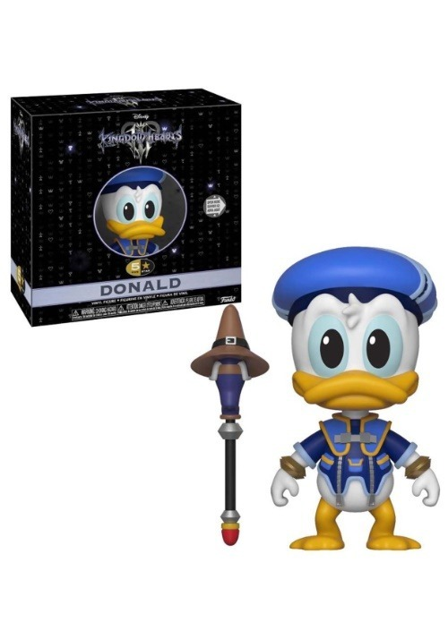5 Star- Kingdom Hearts 3- Donald