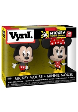 Vynl: Disney: 2 Pack- Mickey & Minnie
