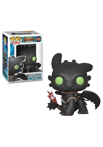 Pop! Movies: How to Train Your Dragon 3- Toothless Figure