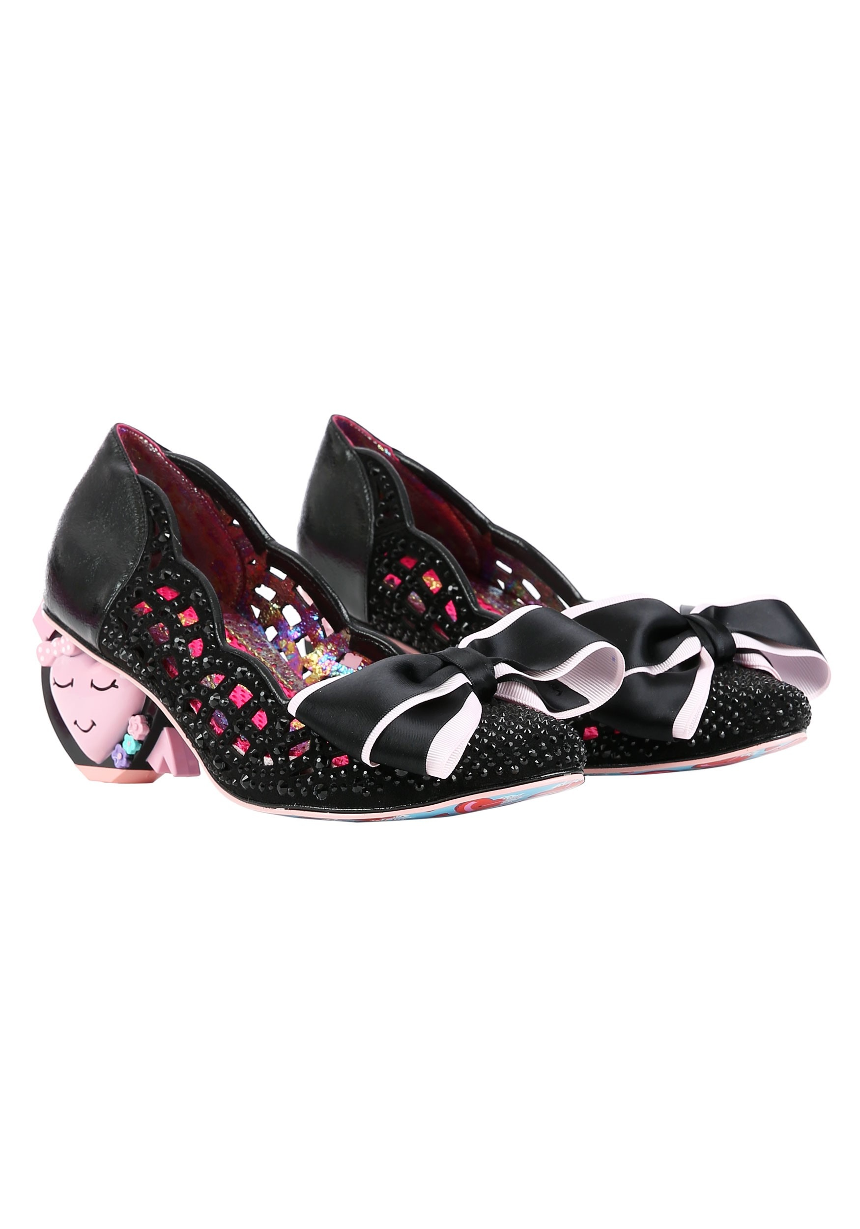 irregular choice sequin shoes