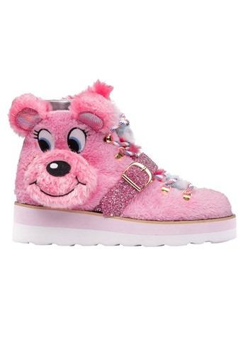 Irregular Choice Big Pink Bear Sneakers main