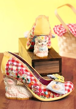 Irregular Choice 'FamaLamb' Family Reunion Character Heel