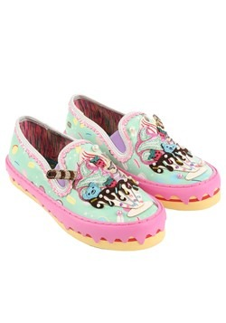 Irregular Choice 'Ice Queen' Ice Cream Sundae Mint Sneakers