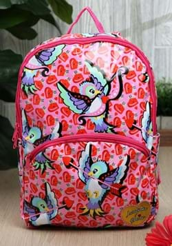 Irregular Choice Cupid Bird Pink Backpack-1