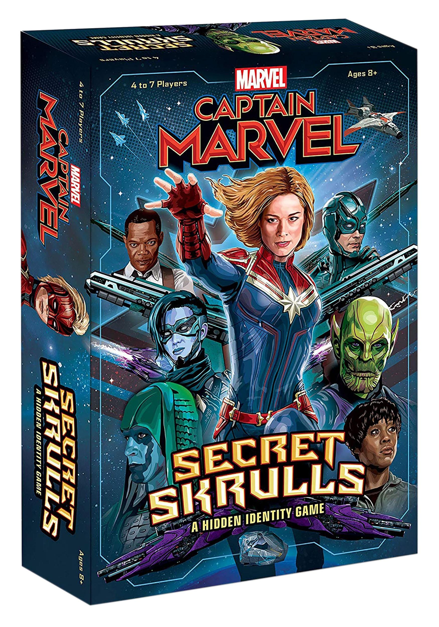 Captain Marvel: Secret Skrulls- A Hidden Identity