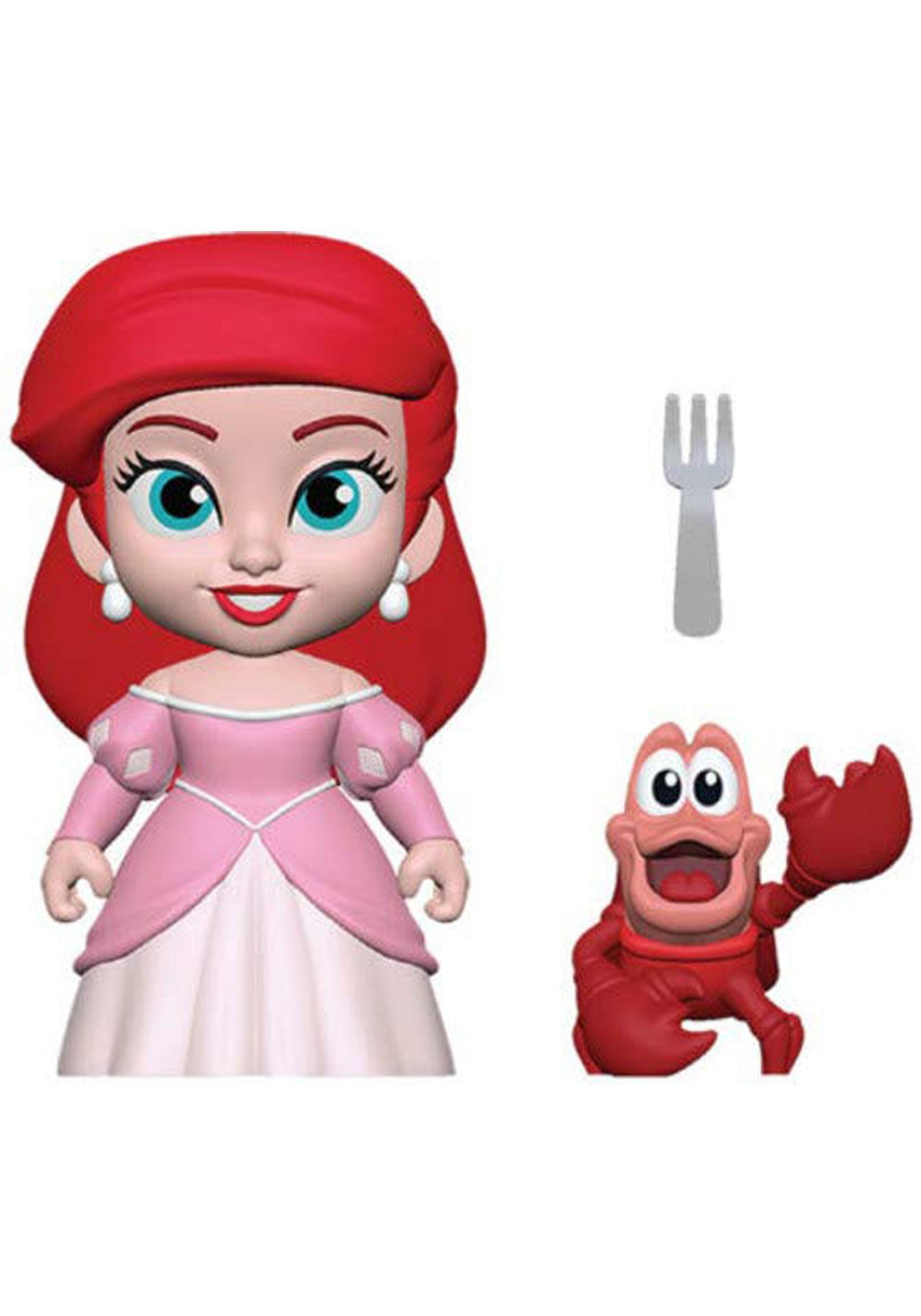5 star little mermaid ariel princess figure