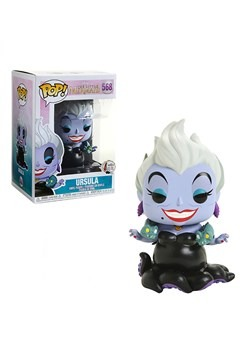 Funko Pop! Disney: Little Mermaid- Ursula w/ Eels upd