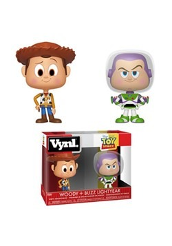 Vynl: Toy Story- Woody and Buzz