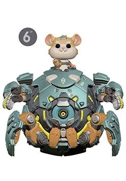 "Pop! Games: Overwatch- 6"" Wrecking Ball upd"