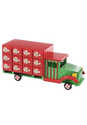 Christmas Truck Advent Calendar