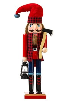 Lumberjack Nutcracker 15 Christmas Decoration