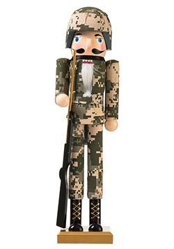 Army Ranger Nutcracker 15in Christmas Decor