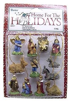 """3/4"""" Mini Nativity Set"""