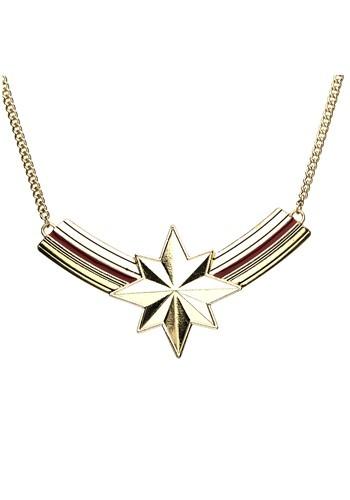 Captain Marvel Bib Necklace