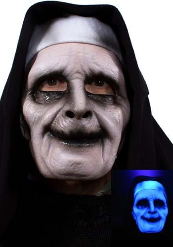 UV Ghostly Nun Mask for Adults update