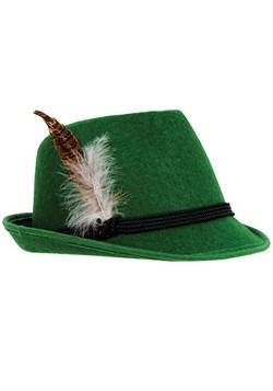 Green German Hat Deluxe