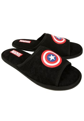 Captain America Open-Toe Slippers update1